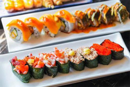 鼎尚寿司加盟菜品图