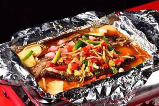 鉤搭紙包魚加盟菜品圖