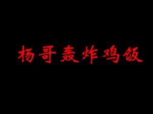 楊哥轟炸雞飯